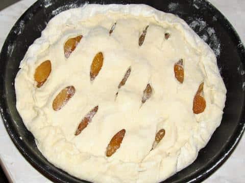 фото пирога перед выпеканием