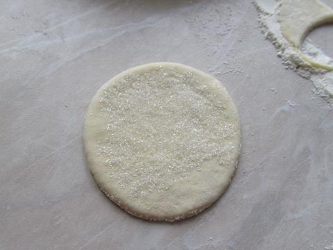 кружок с сахаром