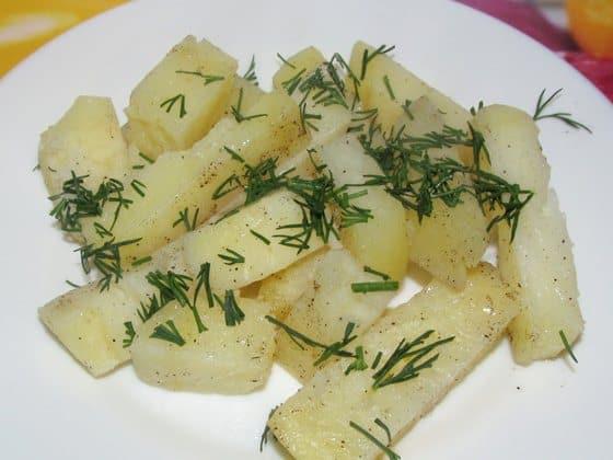 Картофель запечённый в фольге фото рецепт приготовления