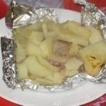 Запеченная говядина с картошкой