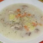 Суп с сырком