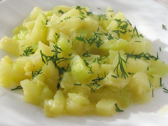 кабачки на сковороде фото рецепт приготовления