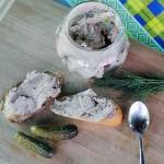 Домашний паштет из говяжьей печени