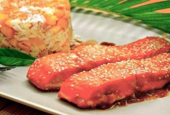 Семга соевый соус кунжут — pic 9