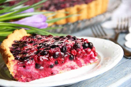 Рецепт пирог ягоды сметана творог — pic 2