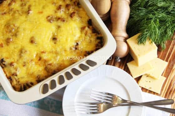 Лазанья с макаронами рецепт с фото в домашних условиях 172