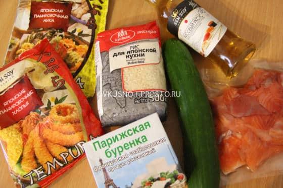теплые роллы в домашних условиях рецепты с фото