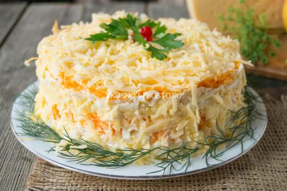 Кулинарные рецепты с фотографиями овощных салатов