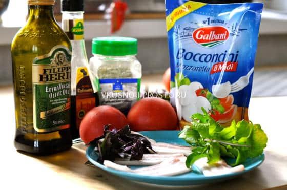 Салат с жареным беконом рецепт 55