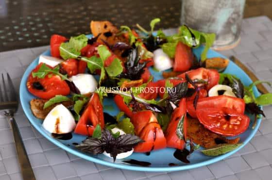 Салат с жареным беконом рецепт 34