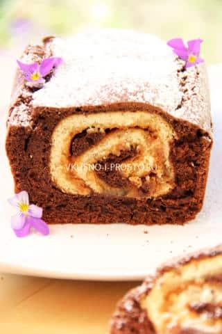 Шоколадный кекс с сюрпризом10