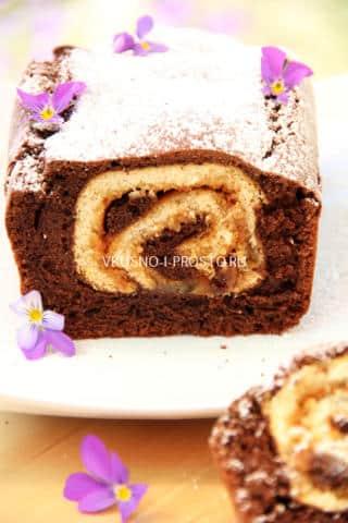 Шоколадный кекс с сюрпризом11