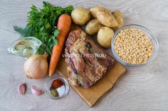 Гороховый суп простой рецепты