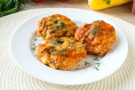 рецепт фрикадельки куриные с подливкой рецепт с фото