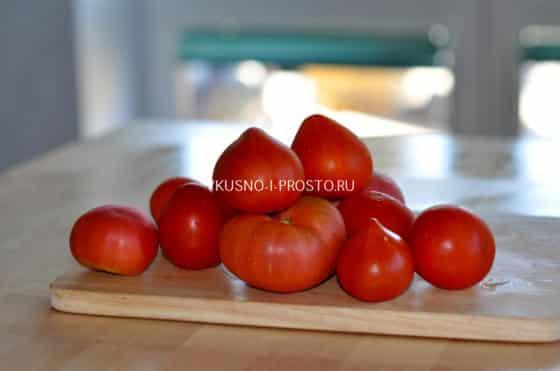 помидоры в морозильнике на зиму