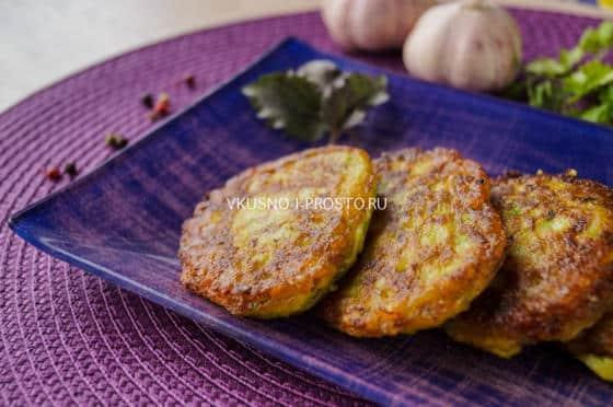 Пышные оладьи из кабачков рецепты быстро и вкусно