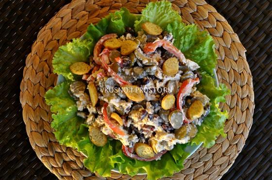 кулинария рецепты с фото салат с фасолью