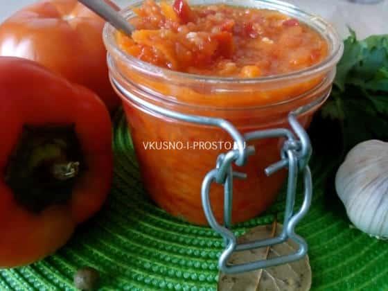 заправка для борща на зиму с капустой и томатной пастой