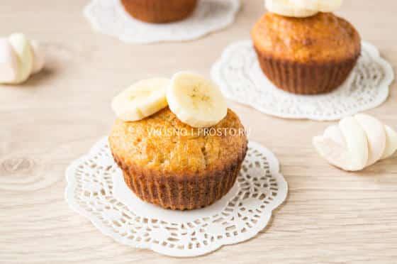 Банановые маффины, 14 пошаговых рецептов с фото на сайте.