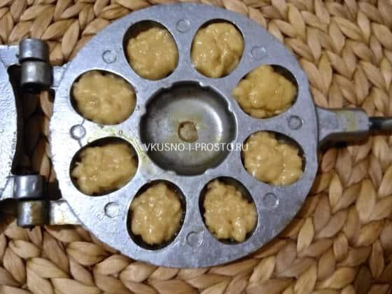 Орешки со сгущёнкой