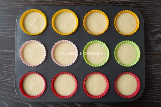 Капкейки в бумажных формочках рецепты пошагово