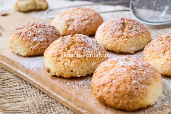 кокосовое печенье на белках