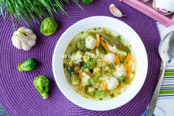 рецепты куриных супов с клецками