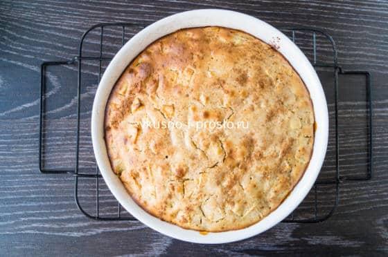 выпекаем простой пирог