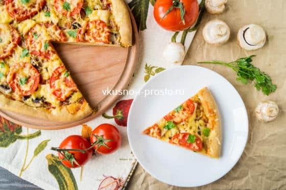 готовая пицца на кефире