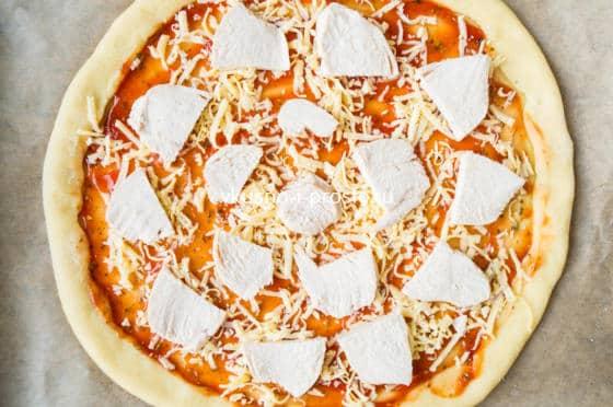 Тесто дрожжевое пиццы в домашних условиях