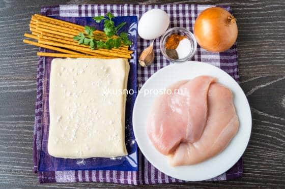 ингредиенты для куриных ножек