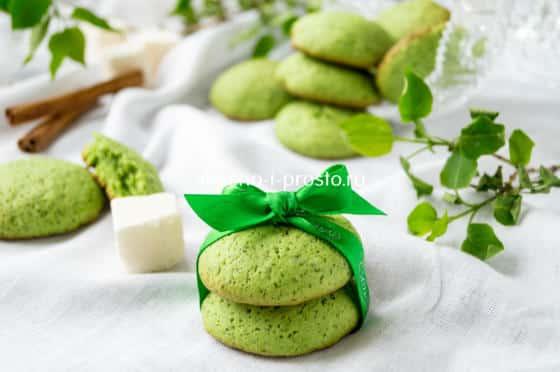 печенье с мятой