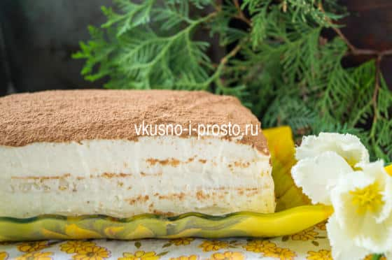 торт парсла рецепт с фото