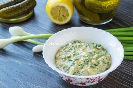 Заправка к овощному салату рецепт