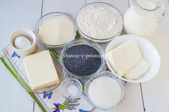 ингредиенты для творожника