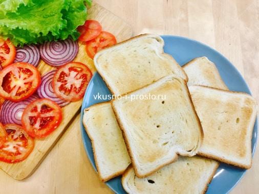 Тостерный хлеб