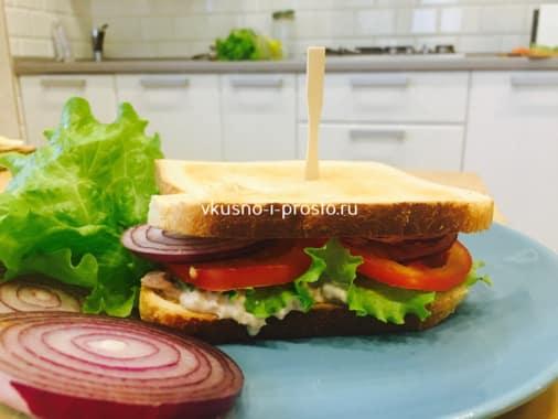 Вилочка для сэндвичей