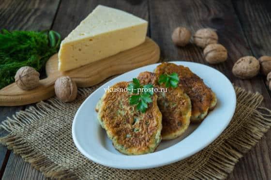 сырные оладьи на кефире