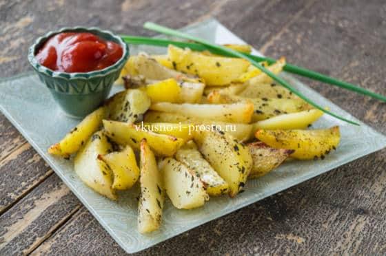 картофель с нори