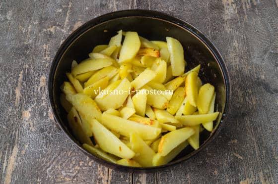 жарим картофель