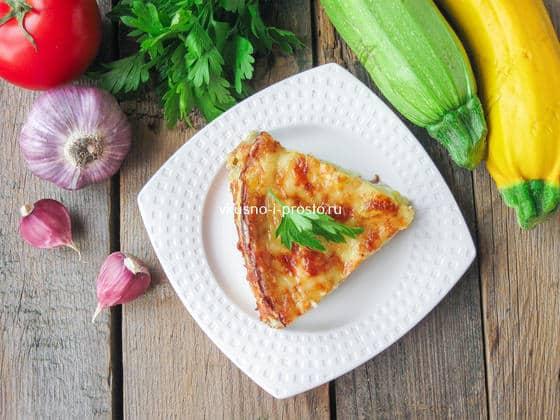 жульен из кабачков с сыром