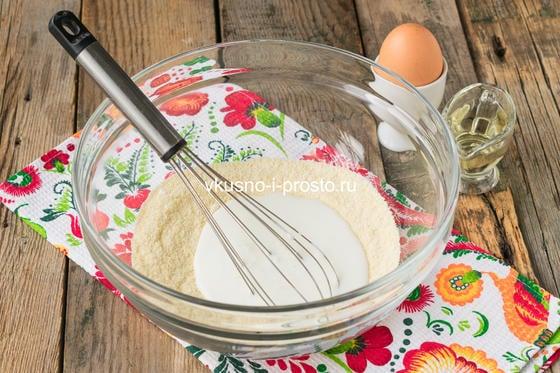 Сладкие кукурузные блинчики - Вкусно и просто