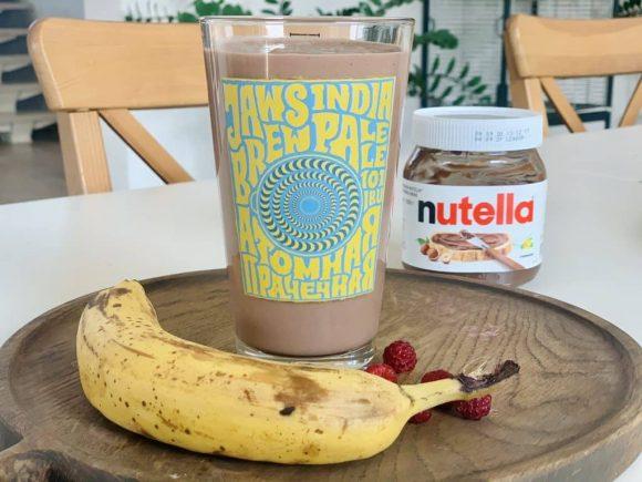 Шоколадно банановый смузи