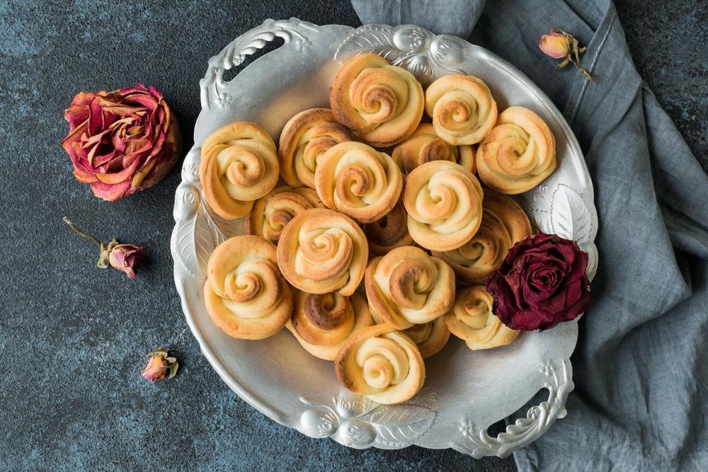 Доводим печенье до готовности в духовке