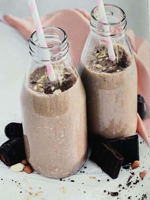 шоколадный молочный коктейль без молока