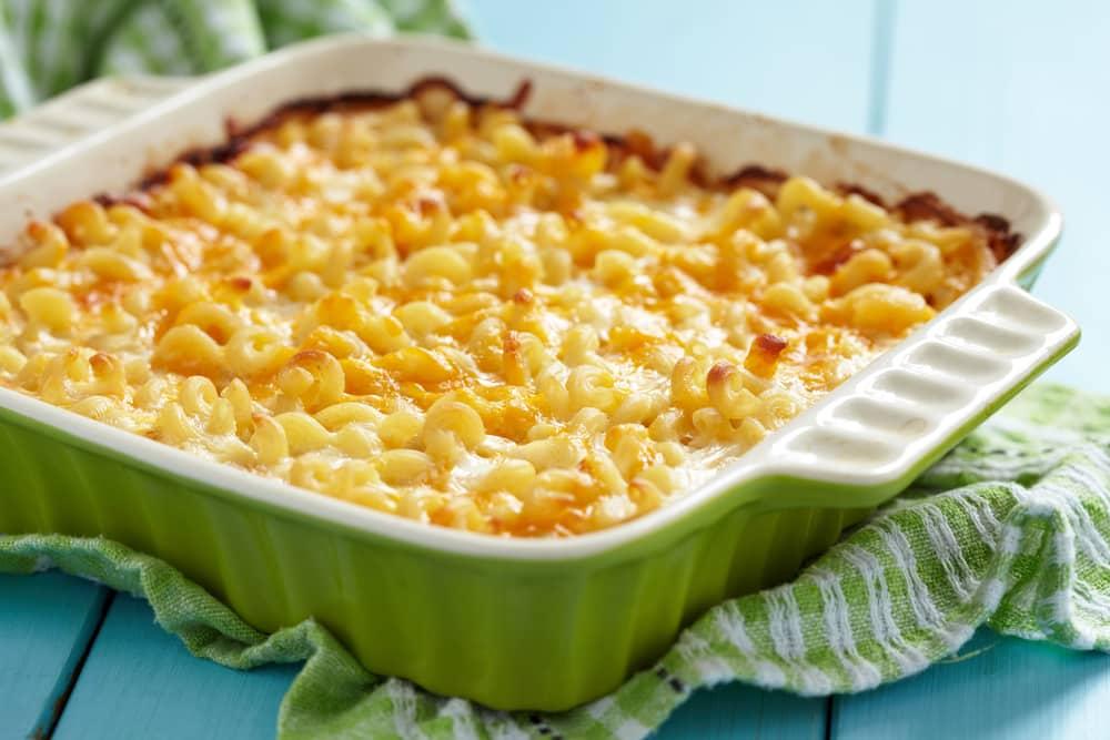 гратен из макарон с сыром и сливками