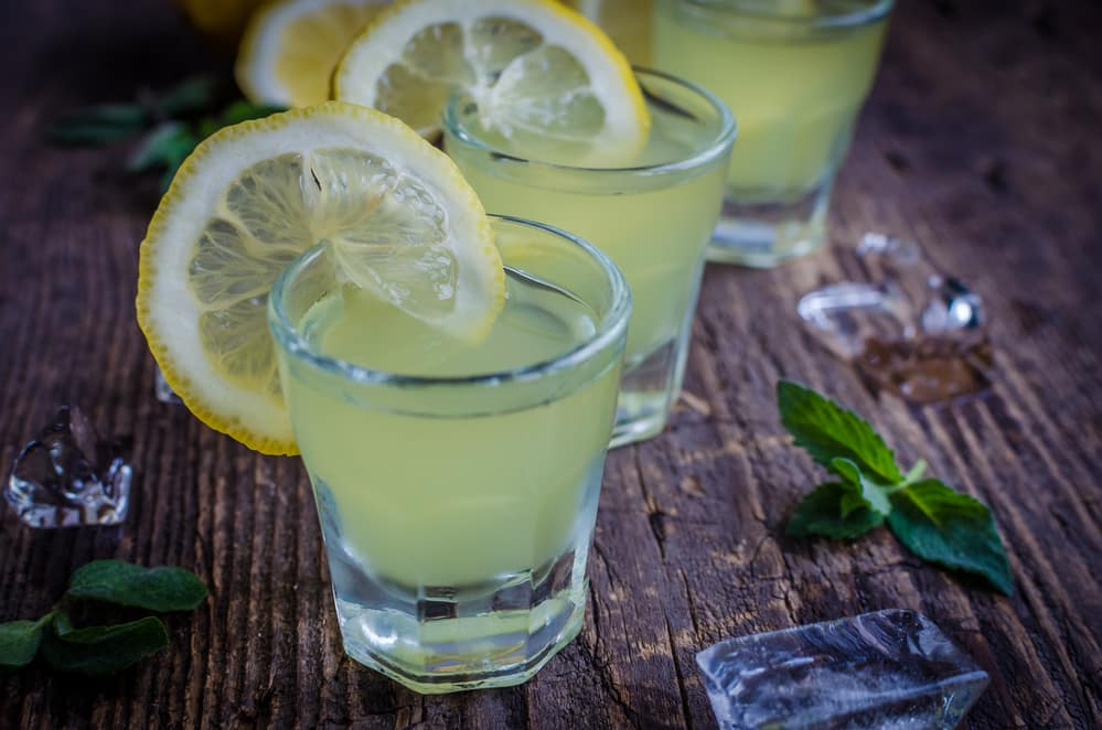 лимонная наливка на водке