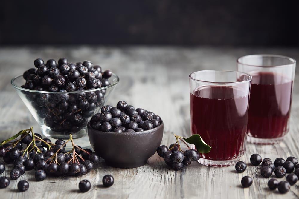 напиток из черноплодки