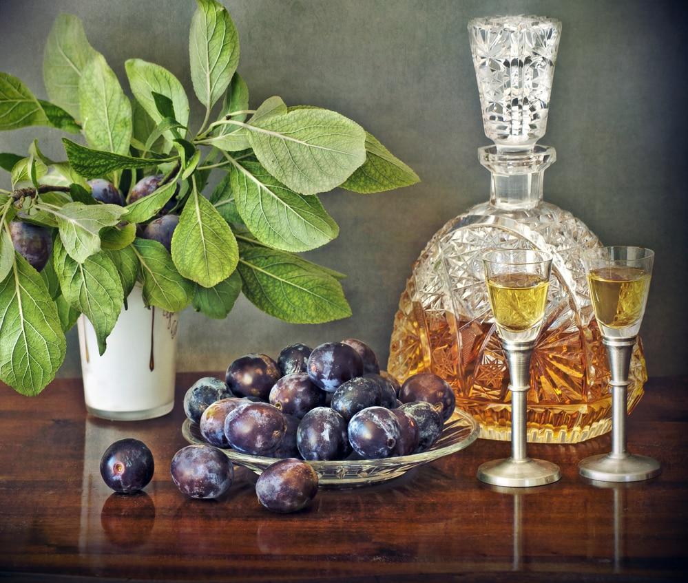 наливка на водке с черносливом