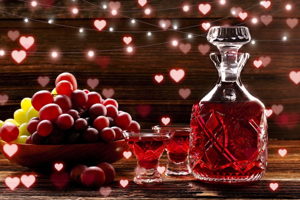 настойка на водке из винограда